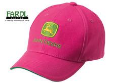 Genuine John Deere Childrens Pink Logo Baseball Cap Hat MCJ099399050