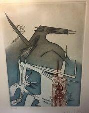 Wifredo Lam Etching Cuban Latin American Artist Arte Cuba Pintura Art