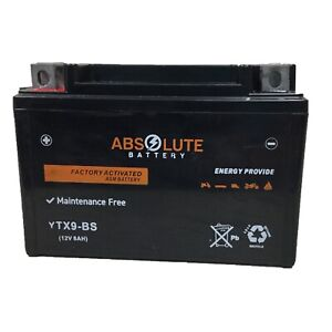 YTX9-BS ATV AGM Battery Arctic Cat 150 DVX400 Hyosung TE450 Kawasaki KFX400 NEW