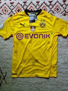 BVB Borussia Dortmund Trikot DFB Pokal Puma Sondertrikot Sancho NEU