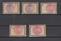 BY7010/ GERMANY – RUSSIAN ZONE – FREDERSDORF – MI # Sp231 / Sp235 MNH SIGNED