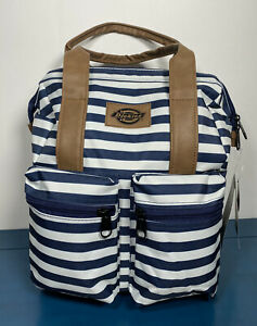 Dickies Striped Laptop-Sleeves Backpack for Women - Exclusive