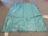 TaylorMade Jade Green Canvas Forward Front Bow Cover for Sylvan 1800 EL