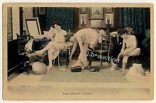 BACKSTAGE PARIS OPERA NUDE WOMEN DRESSING NACKT IN GARDEROBE * Vintage 1900s PC