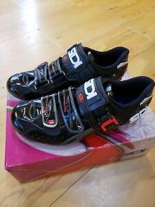 Sidi Genius Womens Vern Black 39.5 US 7.5 road cycling shoe