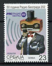 Serbia Stamps 2019 MNH Radio Belgrade 50 Years Communication Technology 1v Set