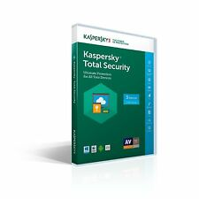 Fast processing Kaspersky Total Security 3 devices 1 year  2018