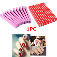 Manicure Beauty Tools Double Sided Nail Files Nail Care Sanding Buffer