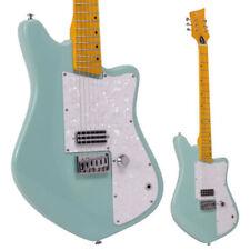 Guitares électriques verts 6 cordes