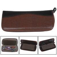 Boîte de rangement pour ciseaux en cuir 1X PU, sac pour ciseaux de coiffure RK