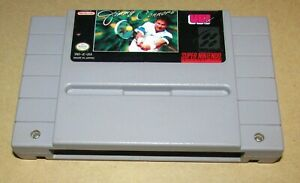Jimmy Connors Pro Tennis for Super Nintendo SNES Fast Shipping