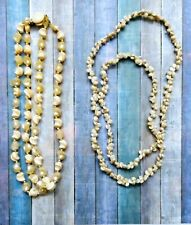 2 Puka Shell Type Vintage Necklaces