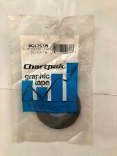 "Chartpak Graphic Chart Tape, 1/8"" x 324"", Matte Black - Same Day Free Ship"