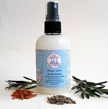 Peace, Love & Harmony Aromatherapy Spray 90% Organic for Reconciliation & Anger