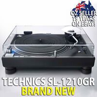 *NEW* TECHNICS SL-1210GR AUDIOPHILE & DJ DIRECT DRIVE TURNTABLE RECORD PLAYER