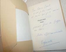 POESIA - Raymonde Lefevre: FILIGRANES Poemes Poesie 1971 Zodiaque dedica autore