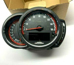 NEW GENUINE MINI F56 CLUBMAN F54 CABRIO F57 F60 JCW SPEEDO INSTRUMENT CLUSTER
