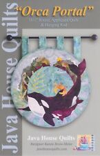 Orca Portal, Java House Quilts, Orca Whale, Diy Quilting Pattern