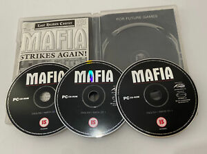 Mafia Game For PC 3 Disc CD ROM with Instructions