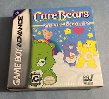 CARE BEARS Care Quest Game Boy Advance & Nintendo DS -2Pics, Sealed =NEW