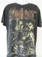 Vintage Black SLIPKNOT Band Tee Shirt Heavy Metal alstyle