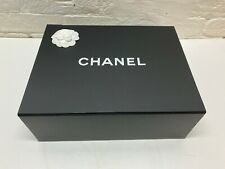 Chanel Magnetic Iconic Bag Gift Box Tissue Paperwork Boutique Camellia *13