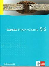 Impulse Physik + Chemie 5|6 Niedersachsen G 8 - Klett - aus 2011 - ZUSTAND: GUT