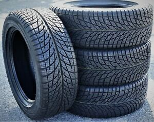 4 New Accelera X-Grip 235/55R18 104V XL Winter Snow Tires