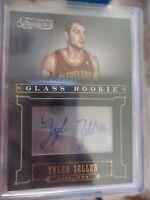2012-13 TIMELESS TREASURES GLASS ROOKIE TYLER ZELLER CARD # 248    023/499