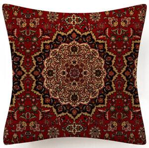 "Throw PILLOW COVER DIGITAL PRINT Tapestry Kilim Decorative Cushion Case 18x18"""