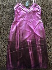 New Aut Prada  Mini Dress 100% Silk  S Pink