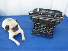 "Vintage 1930's Antique Underwood No. # 6 Standard 12"" Manual Typewriter"