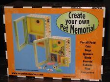 "ART PET MEMORIALS ""CREATE YOUR OWN PET MEMORIAL""  BOX -- FREE SHIPPING!!!."