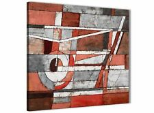 Red Grey Painting Abstract Bedroom Canvas Pictures Decorations 1s401l - 79cm