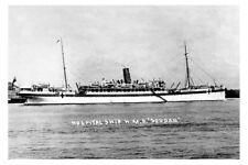 SOUDAN as Hospital Ship  WW1 ex P & O Liner modern digital Photo Postcard
