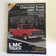 LMC Truck Catalog Chevrolet GMC 1/2 & 3/4 Ton 1973-87 2002 Summer Edition CG.31