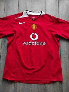 Men's Nike Manchester United Red Polyester T Shirt Size XXL