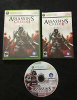 Assassin's Creed II 2 — Complete! Manual Included! Great Shape! (Xbox 360, 2009)