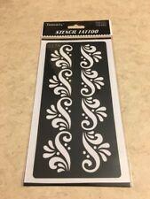 USA SELLER!!  1 Pc Reusable Henna Stencil Temporary Tattoo Sticker DYI #S276