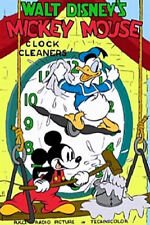 "35mm Color Cartoon for ""CLOCK CLEANERS""  Walt Disney 1937"