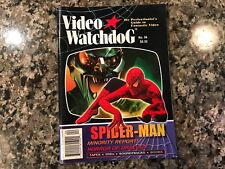 Video Watchdog 94! Spider Man/Last House On Dead End Street/House Of Dracula