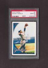 2010 Topps MICKEY MANTLE #7 Yankees PSA 10 GEM MINT
