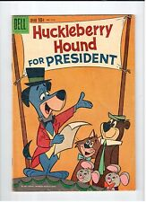 Dell Four Color #1141 HUCKLEBERRY HOUND 1960 vintage comic VG condition