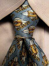 Gianni Versace Blue Tie A4040