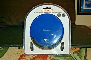 CRAIG-PERSONAL CD PLAYER with headphones
