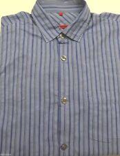 Gestreifte Signum Langarm Herren-Freizeithemden & -Shirts aus Baumwolle