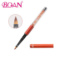 BQAN 3D Acrylic Nail Art Brush Rhinestone Handle Nail Painting Drawing Brush #4