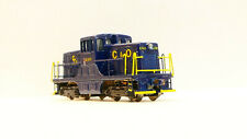 C&O Chesapeake & Ohio GE44 Tonner Rokuhan Brass Z scale anaolog with LED lights