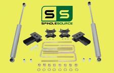 """3""""/2"""" STRUT SPACERS , BLOCKS, RR SHOCKS KIT FITS 2004 - 2008 Ford F-150 2WD"""