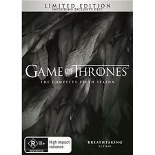 Game Of Thrones - Season 5 (Limited Edition) (DVD) (Region 4) Aussie Release